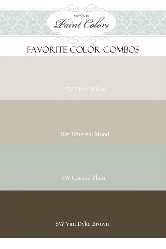 Favorite Paint Colors Elder White Ethereal Mood Coastal