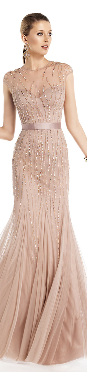 LOOKandLOVEwithLOLO: PRONOVIAS BARCELONA 2014 COCKTAIL DRESS ...