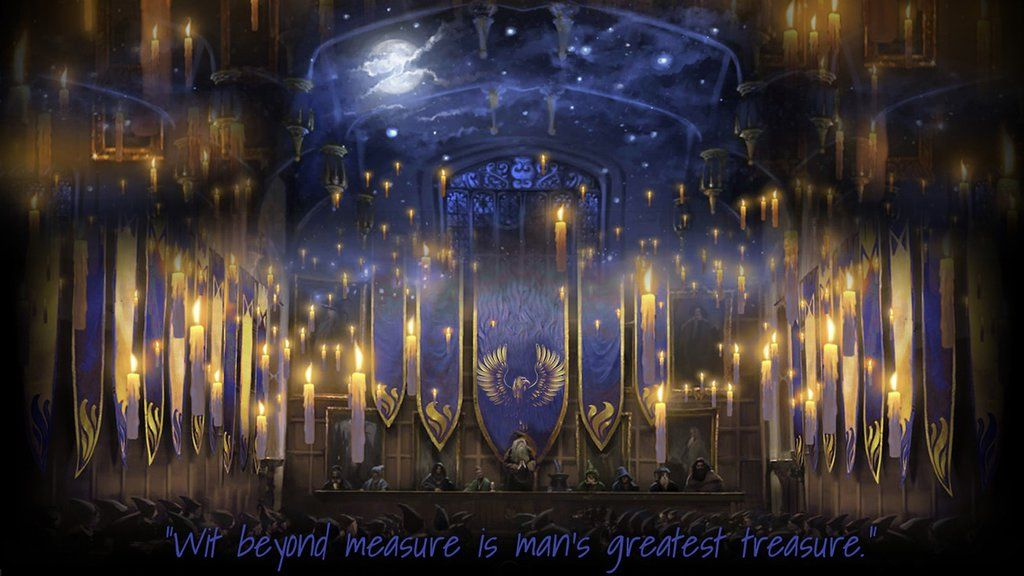 Pottermore Background Ravenclaw Great Hall By Xxtayce On Deviantart Harry Potter Fan Art Ravenclaw House Ravenclaw