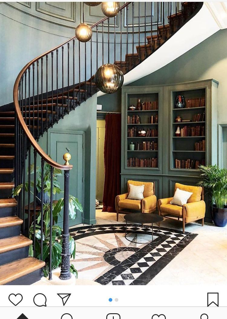 Turn Up Your Decor With These Mesmerizing Lighting Fixtures From Modern Lamps To Ceiling Lights Your Modern Hotel Hoxton Hotel Interior Design House Stairs
