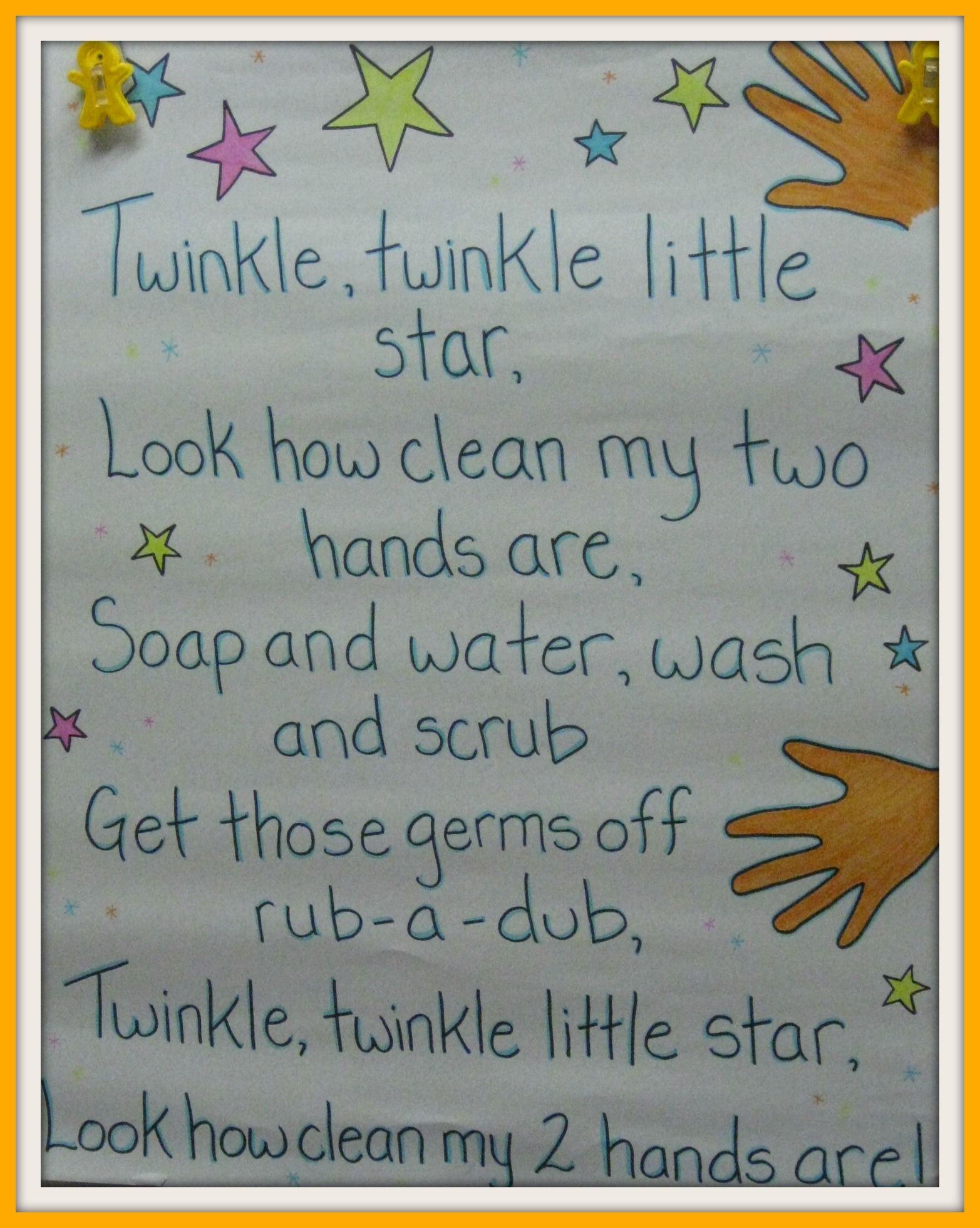 Hand Washing Song