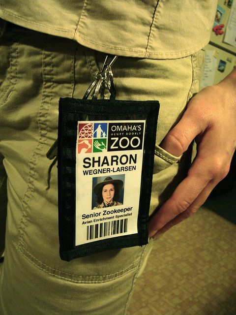 the zookeeper u0026 39 s official employee badge