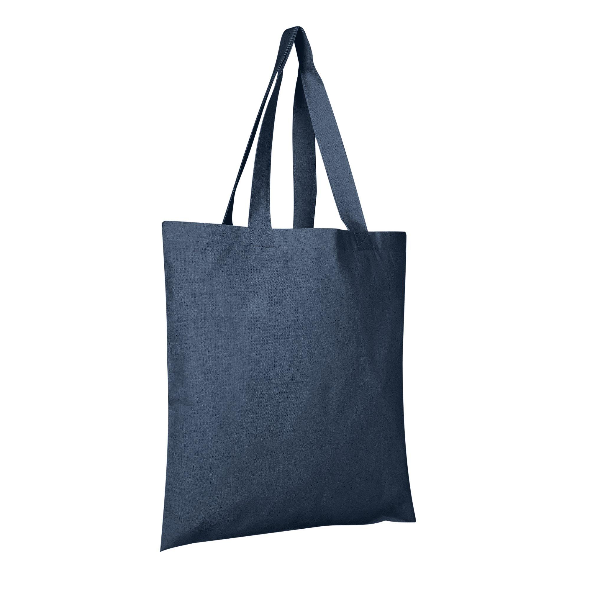 Economical 100% Cotton Wholesale Reusable Tote Bags  60ee1da566920