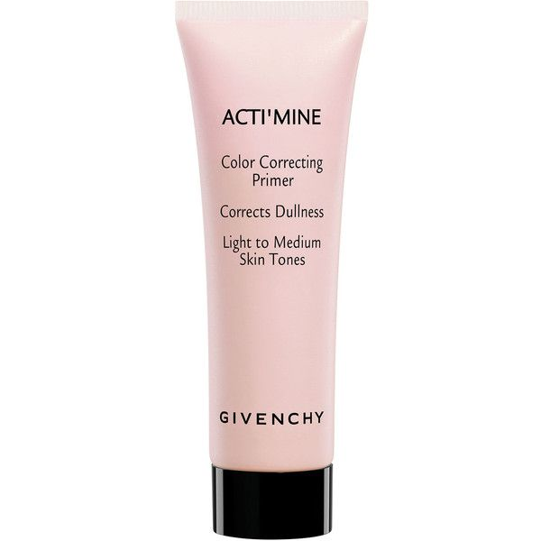 Givenchy Acti'mine Color Correcting Primer (€37) ❤ liked on Polyvore featuring beauty products, makeup, face makeup, makeup primer, milk and givenchy