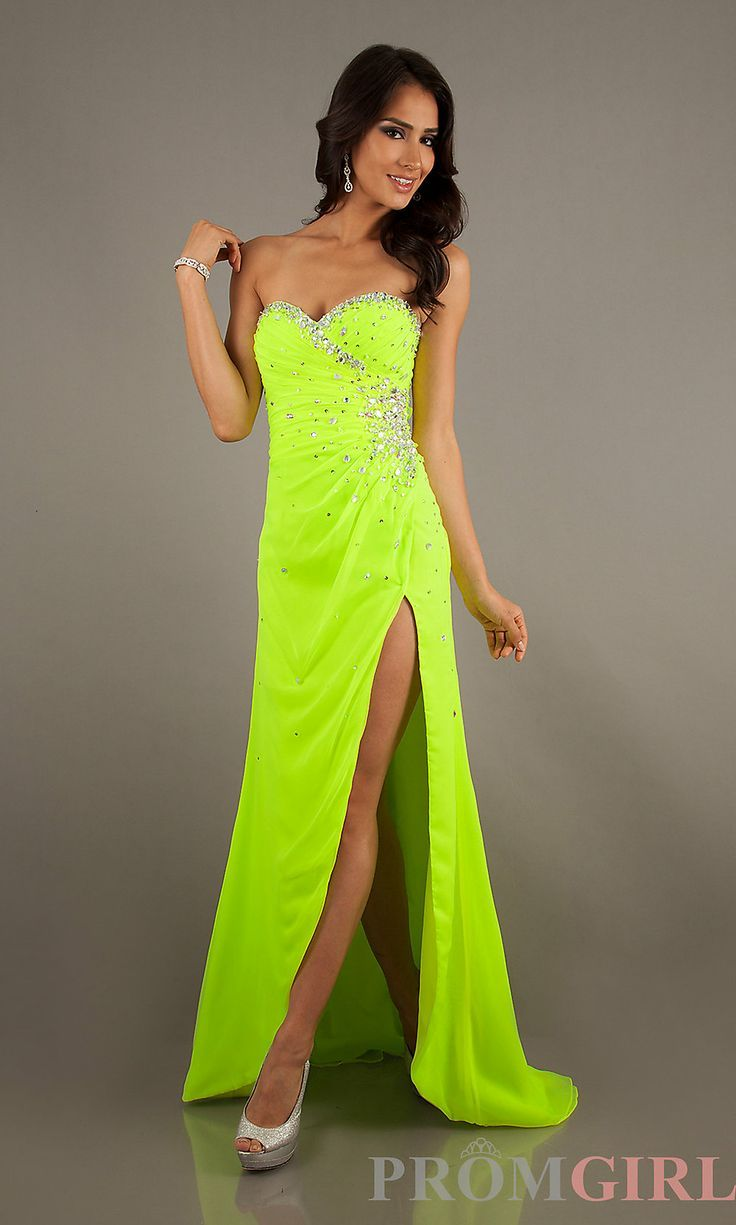 Neon Colored Prom Dresses Cheap Wedding Ideas Pinterest Prom