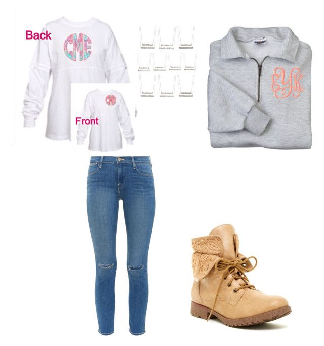 """Untitled #508"" by jackelinhernandez ❤ liked on Polyvore featuring Frame Denim, Rock & Candy and Coordinates Collection"