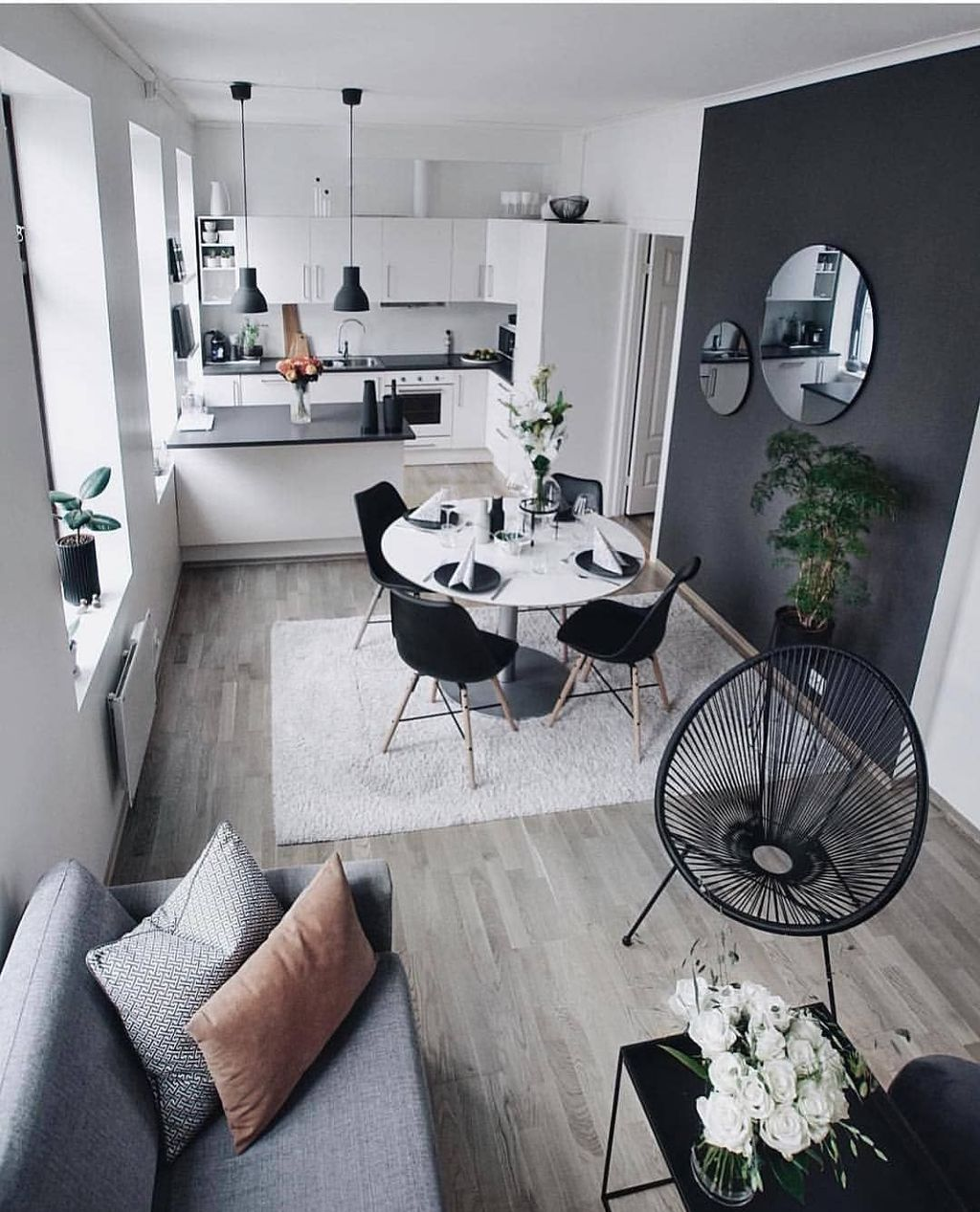 48 Inspiring Living Room Ideas For Small Space Homyhomee Interior Design Living Room Minimalist Home Decor Minimalist Home