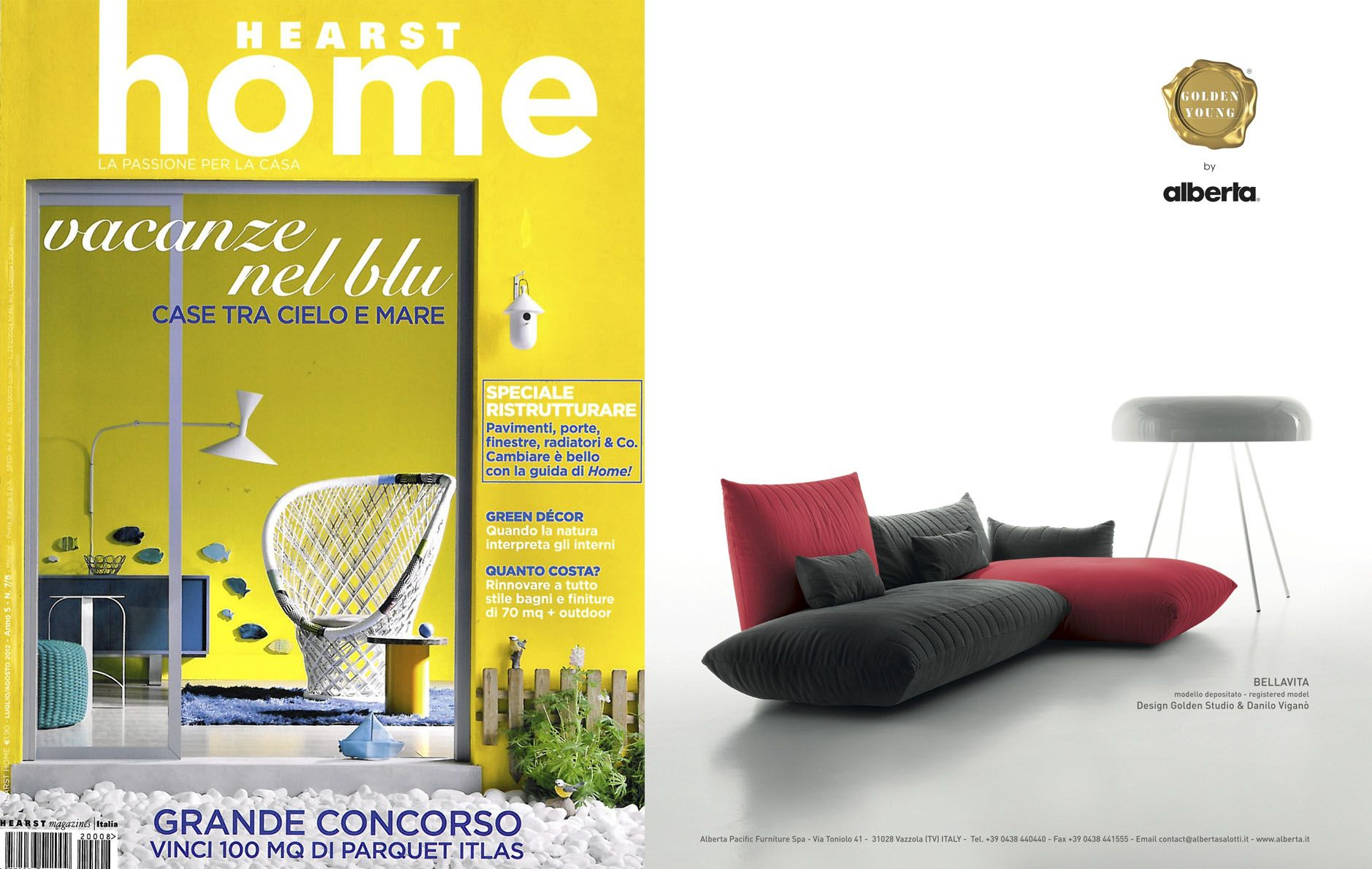 Konsept Projeler Magazine Turkey May 2012 Bellavita Sofa  # Muebles Passione