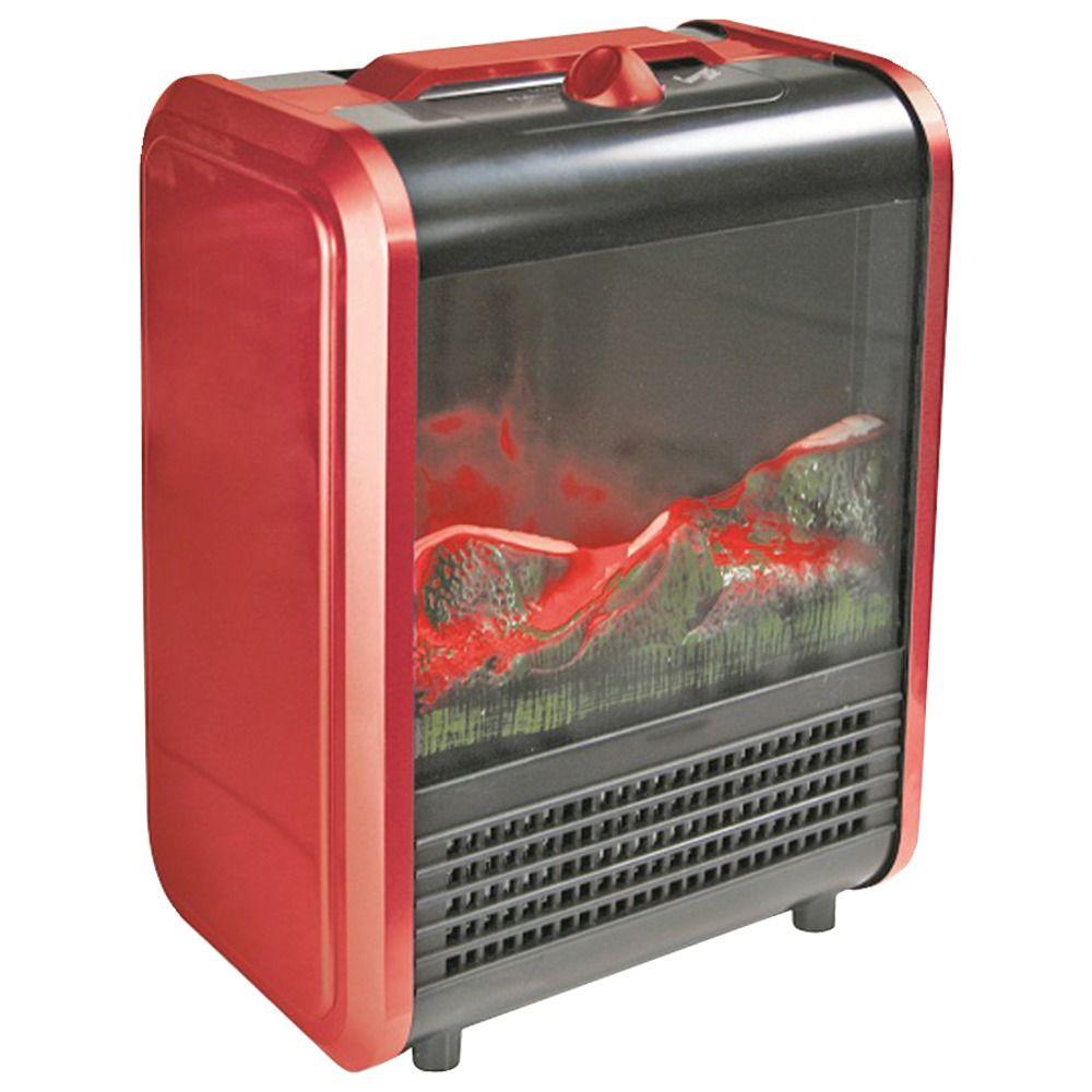 FREE Shipping Comfort Zone Mini Electric Fireplace RA
