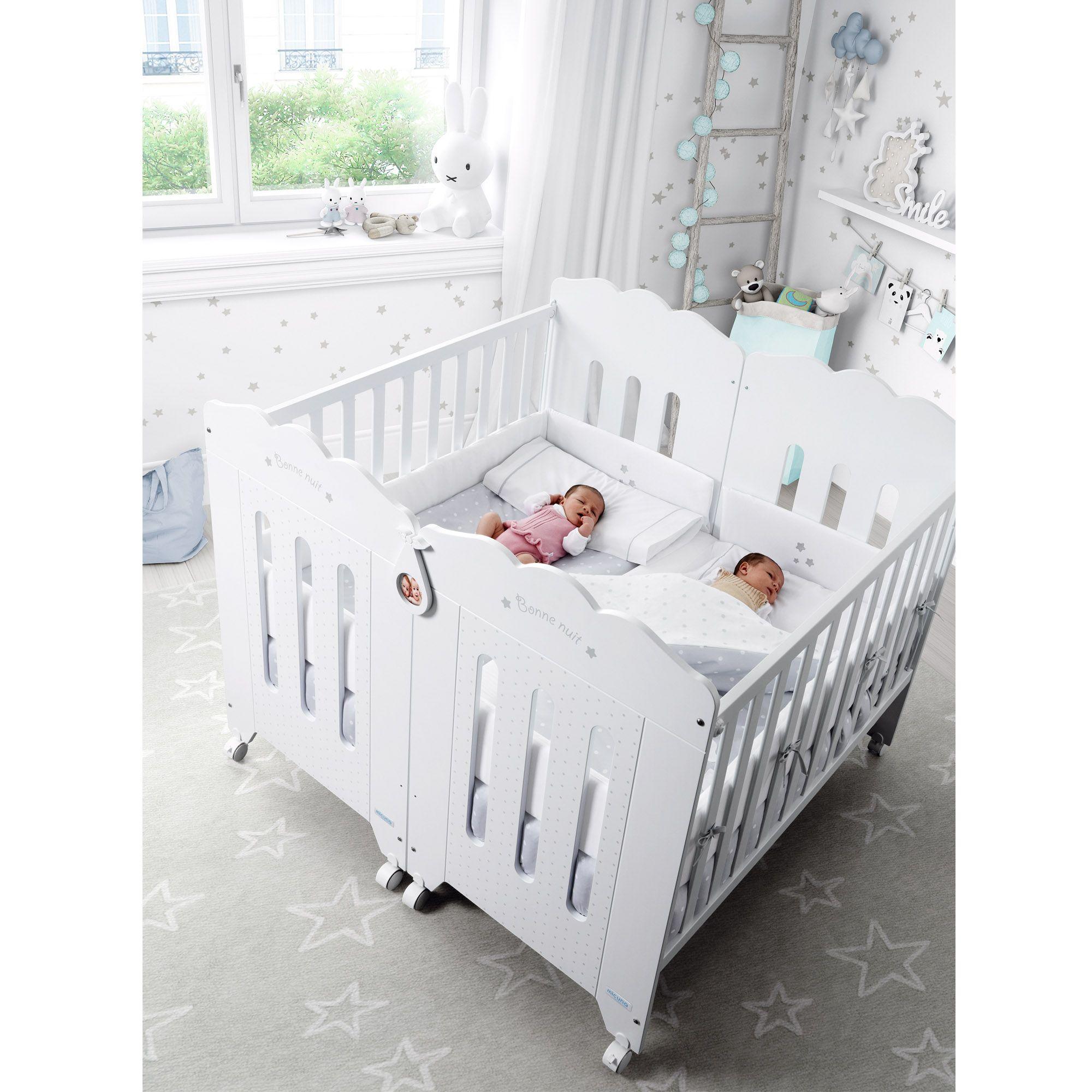 La cuna bonne nuit de 120x60 cm est dise ada y fabricada - Cunas para bebes gemelos ...