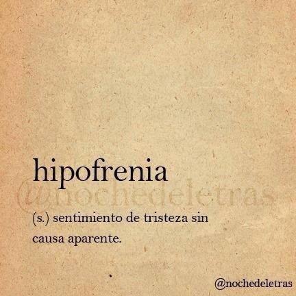 Hipofrenia