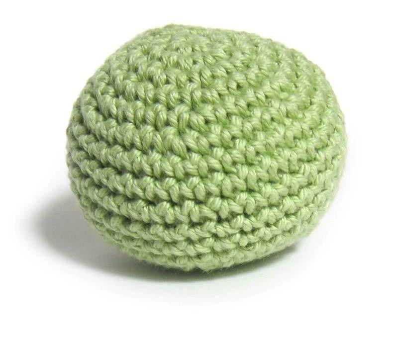 How to make a hacky sack   Tutorial crochet, Crochet and Tutorials