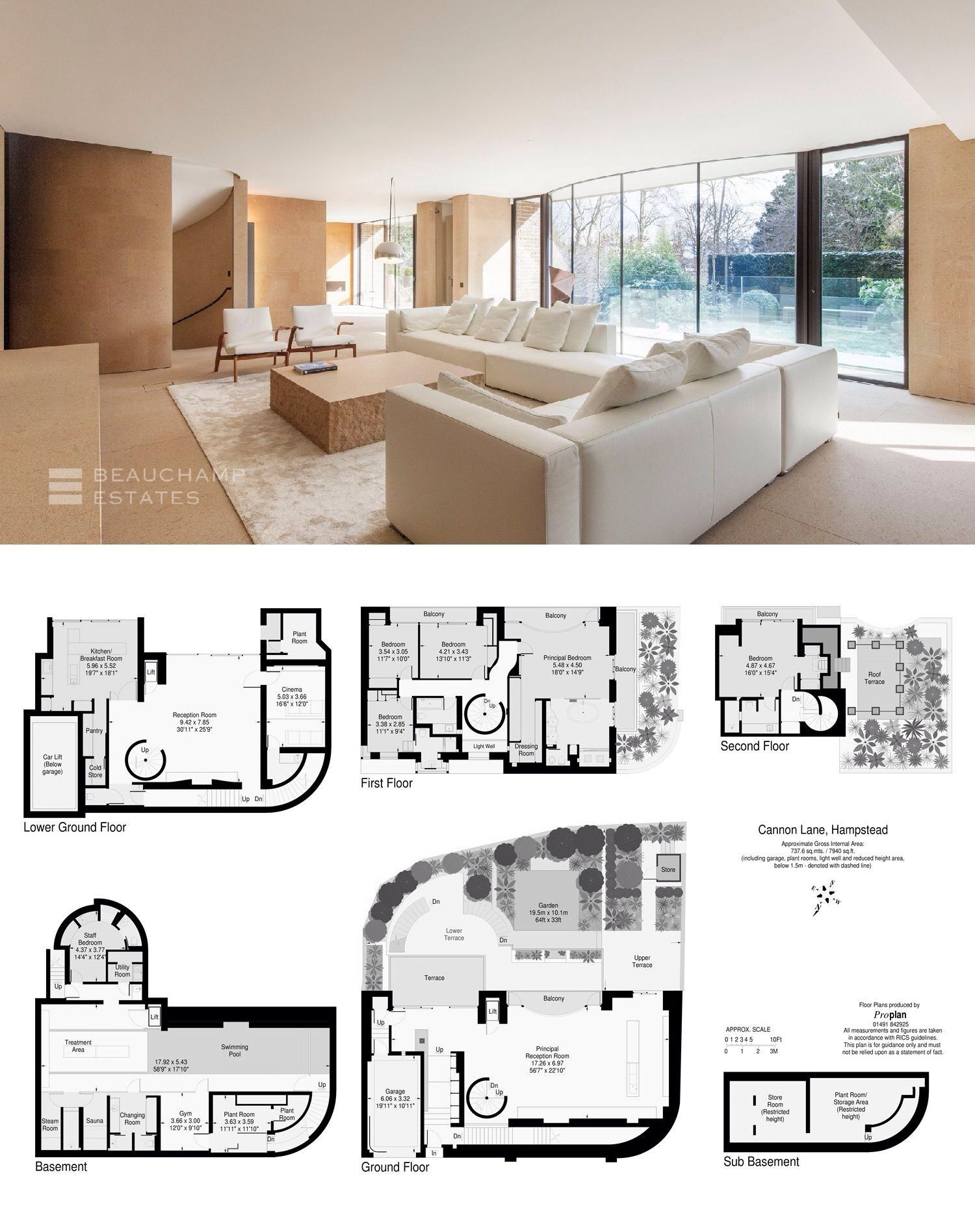 Cannon Lane Nw3 London Minimalist House Design Sale House House Design