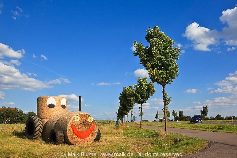 strohballen traktor
