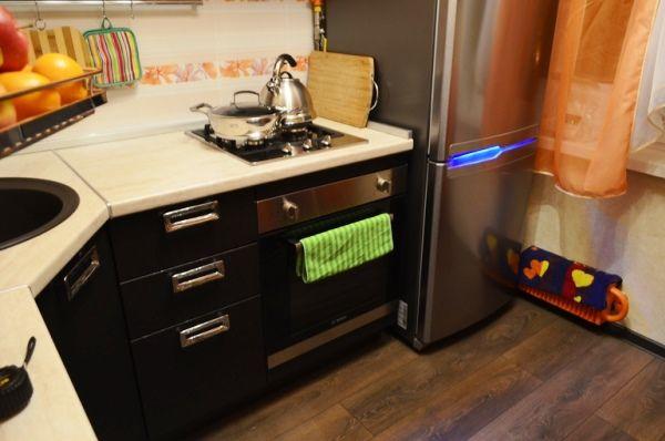 кухня в хрущевке 6 квм дизайн фото 3