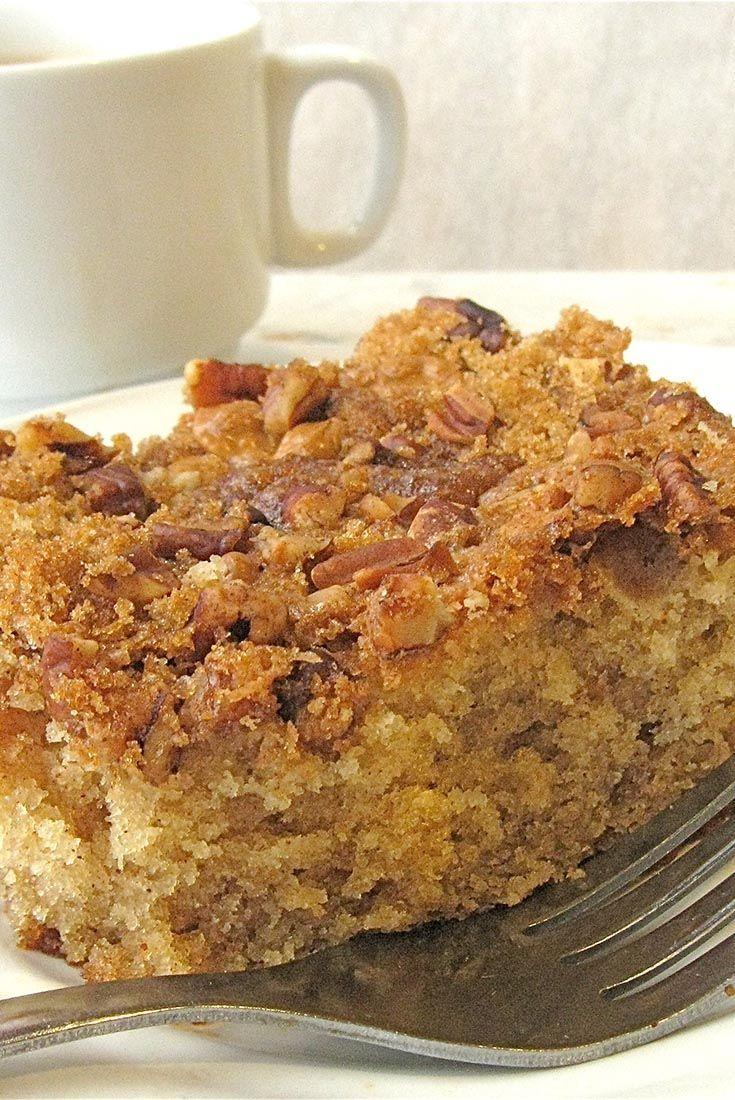No Fuss Coffeecake Recipe Recipes King Arthur Flour Recipes Baking