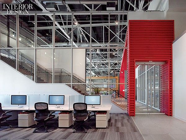 Youtube Touches Down Hlw Remakes A Helicopter Hangar Offices Co