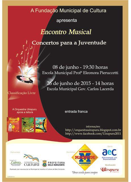 Orquestra Uirapuru: Em junho, Encontro Musical nas Escolas