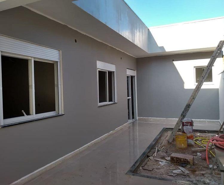 Pintura externa de casas modernas