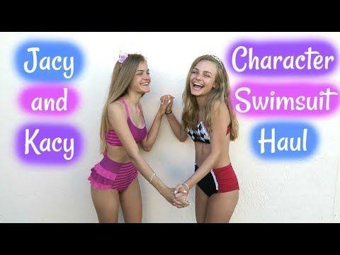 cipő eladása legnagyobb kedvezmény megfizethető áron Character Swimsuit Try On Haul ~ Jacy and Kacy - YouTube | Youtube ...