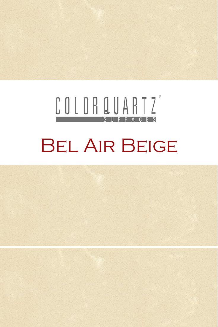 Bel Air Beige by Color Quartz is perfect for a kitchen quartz ...