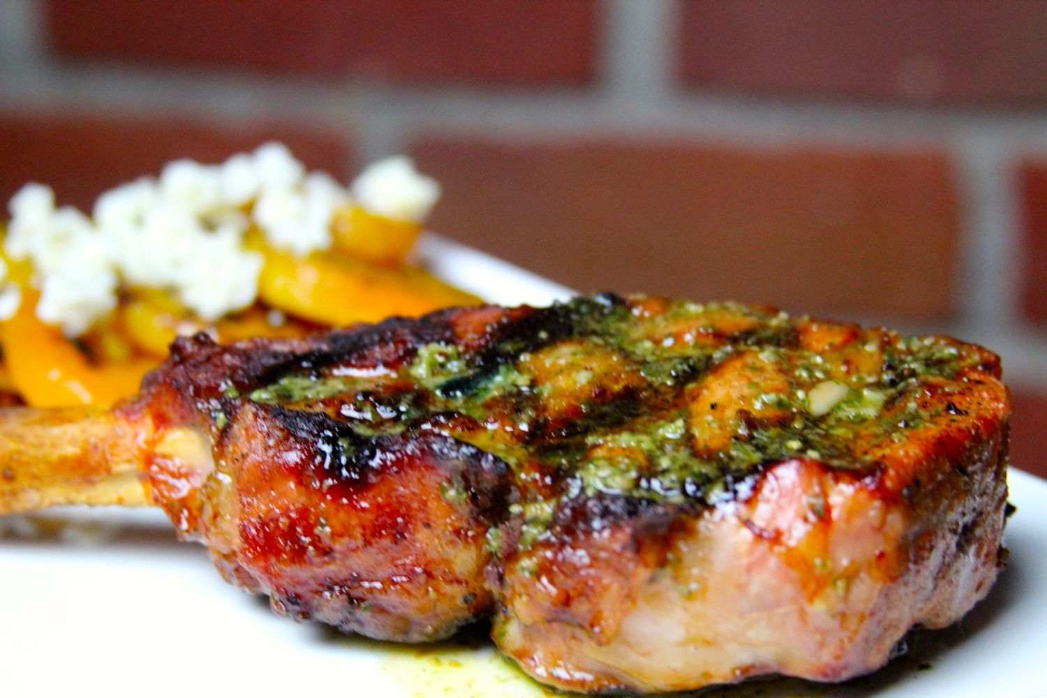 Irresistible Chimichurri Butter Chimichurri Butter Veal Banting Grilling Grilled Veal Chop 2018 Grilling Veal Chop Recipes Easy Veal Chop Recipes Slow Cooker Grilled Veal Chop