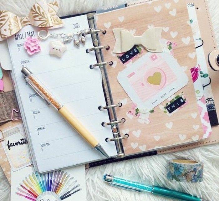 comment organiser et customiser son agenda  62 idées diy