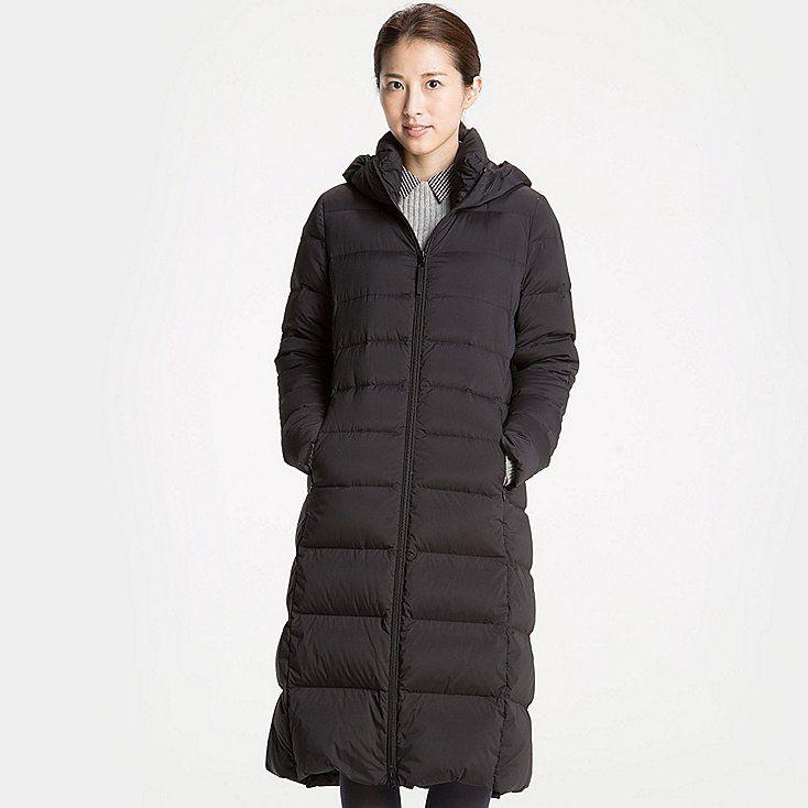 WOMEN Ultralight Down Coat Stretch