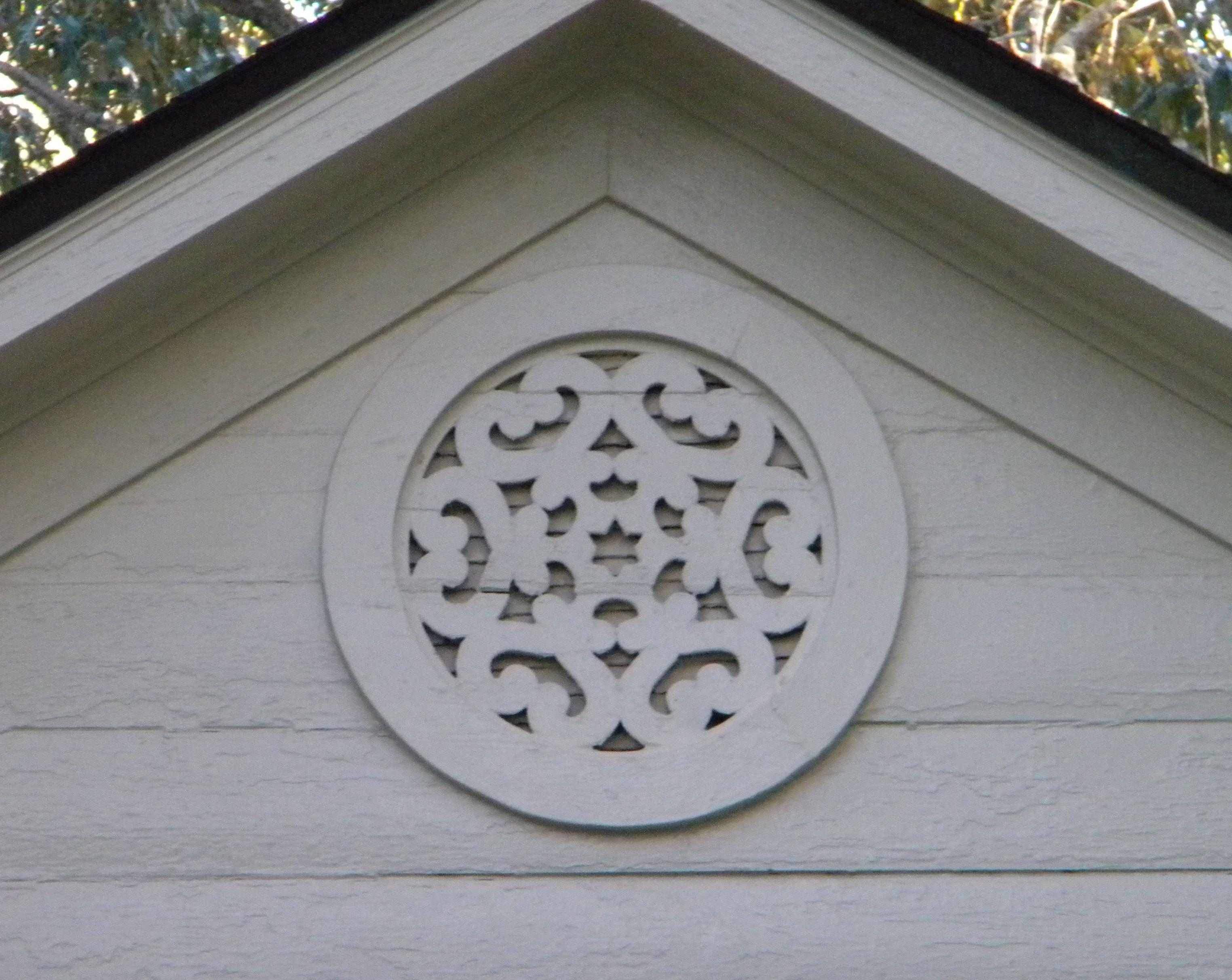 Decorative Gable Vent Oxford Ms Gable Vents Gable Decorations Exterior House Colors
