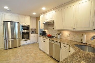 Levant Kitchen Furniture - traditional - Kitchen - New York - Homecraft Remodeling Corp.