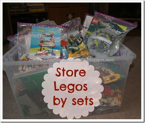 Amazing This Is The Same Lego Storage Solution We Use For Sets (plastic Ziplock  Bags To