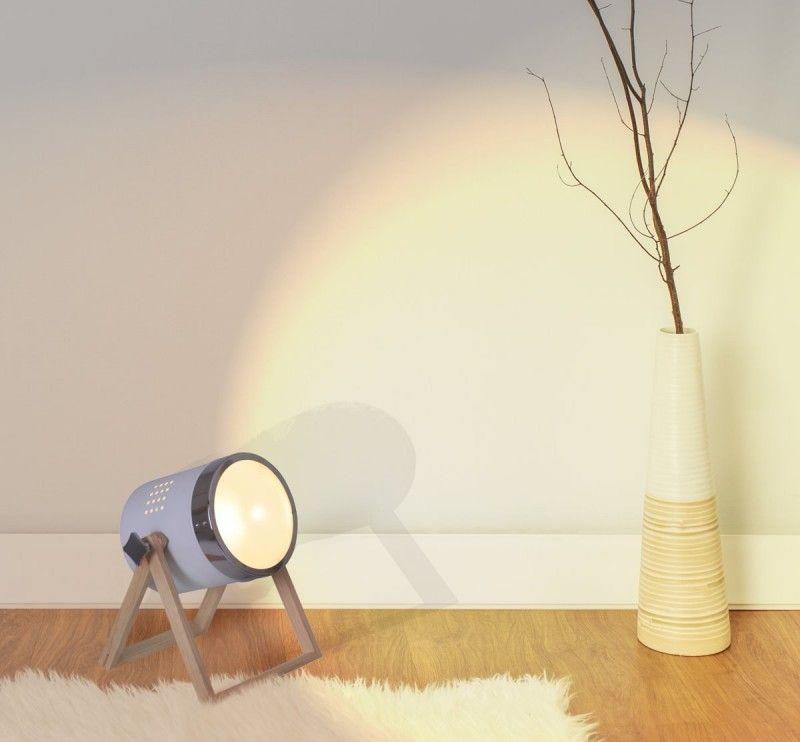 Tischleuchte Scheinwerfer Weiss Mit Holz Gestell Nave Tim E27 Nave Nach Marke Beleuchtung Tischleuchte Vintage Tischlampen Lampe