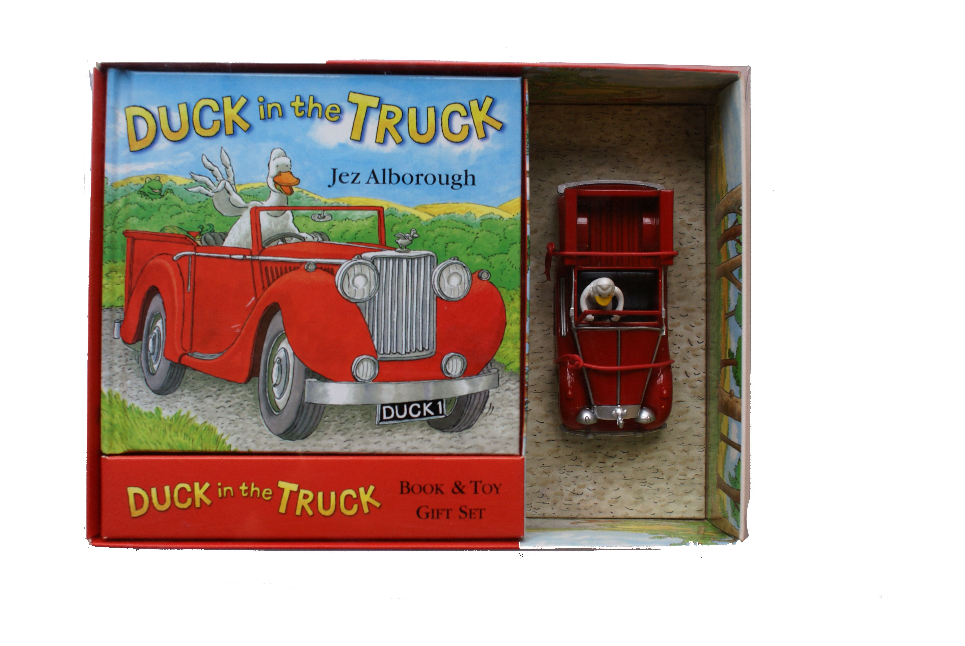 Duck in Truck - book and car toy box set | Kids Activities ...