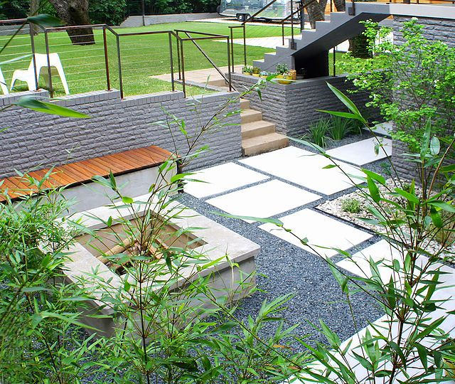 anderson residence (With images) | Modern landscaping