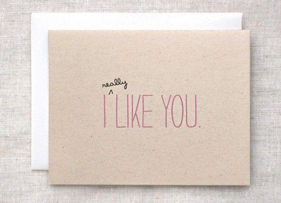 Schön In Fast Vier Wochen Ist Der Valentinstag. Bei Uns Ist Es Vielleicht Nicht  üblich, Aber In Den USA Schreiben Sich Die Verliebten Karten Und Briefe Als  ...
