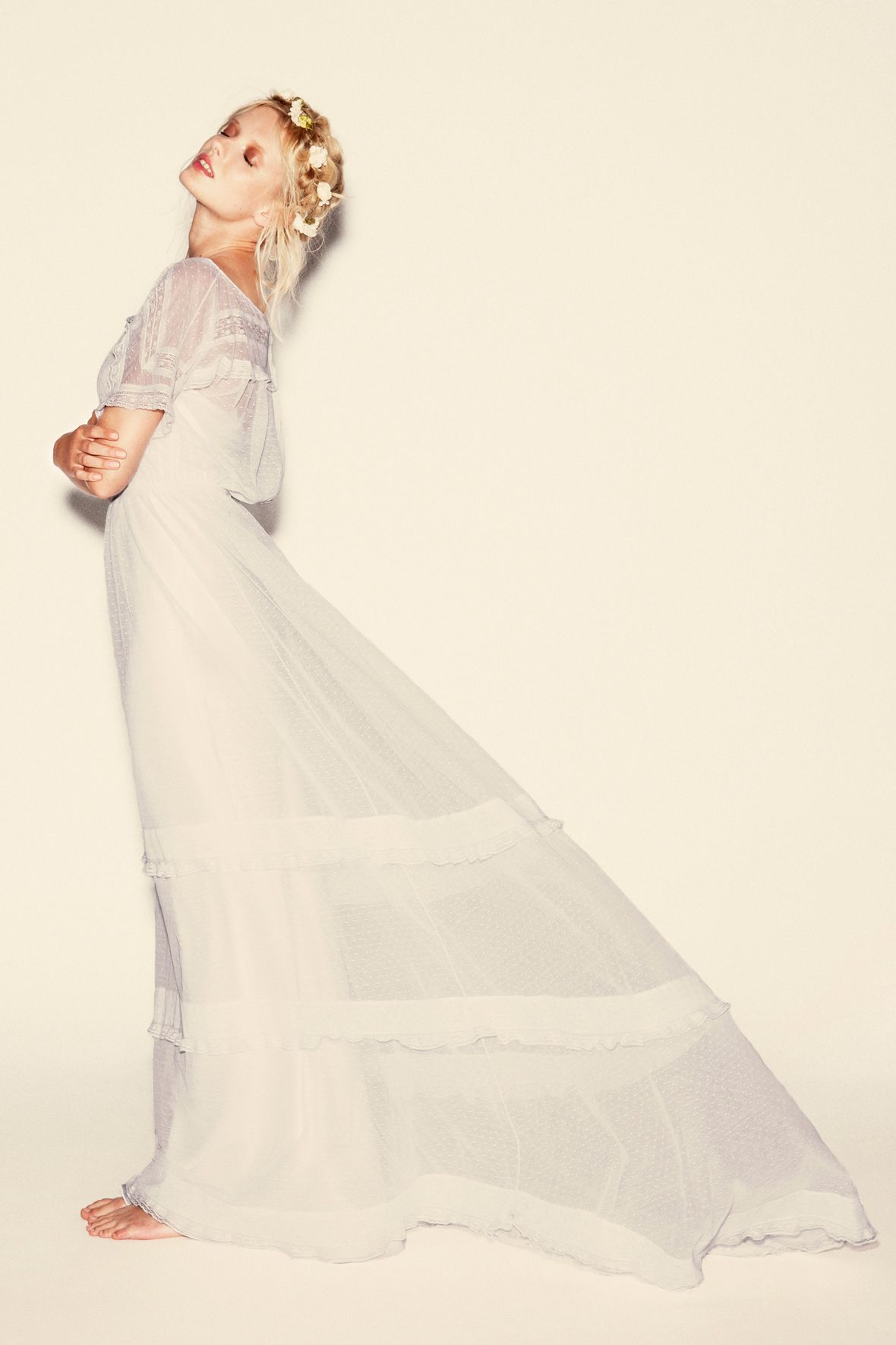 Delphine manivet designer ellie saub pinterest gowns flower