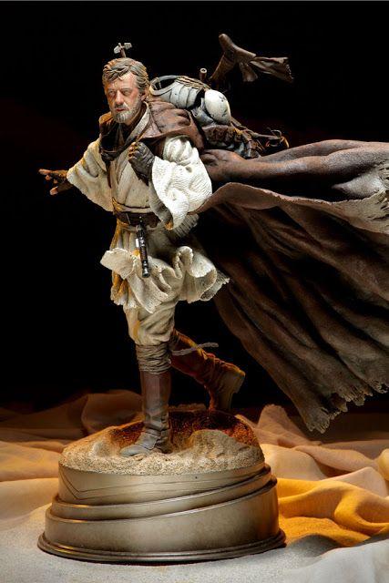 Ben Kenobi, Desert Nomad Mythos Statue  My dream statue
