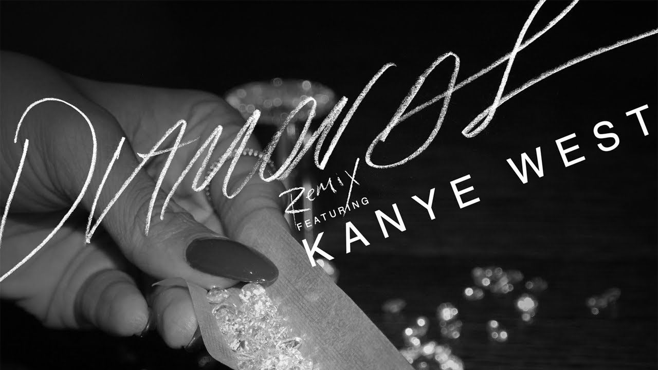 Rihanna Feat Kanye West Diamonds Remix Kanye West Diamonds Wedding Jewellery Inspiration Rihanna Diamonds