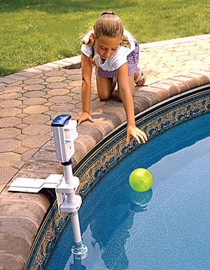 PoolEye PE 22 pool alarm system from SmartPool. Swimming pool safety ...