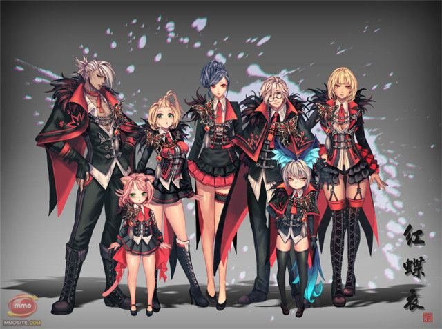 Bns Red Butterfly Fashion 1