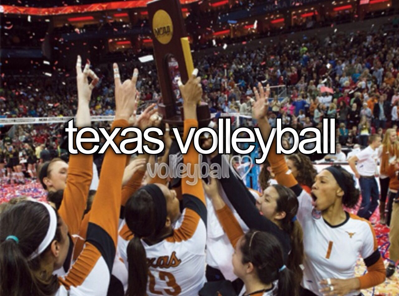 Texas Volleyball Volleyball Inspiration Women Volleyball
