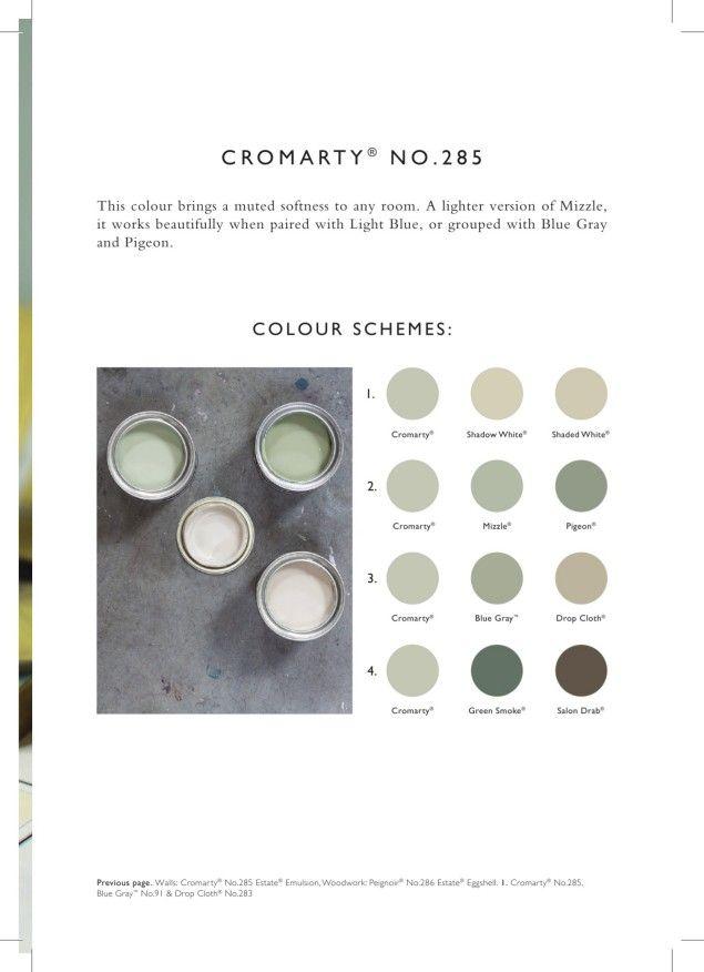 farrow ball cromarty no 285 paints pinterest farrow ball wallpaper and bedrooms. Black Bedroom Furniture Sets. Home Design Ideas