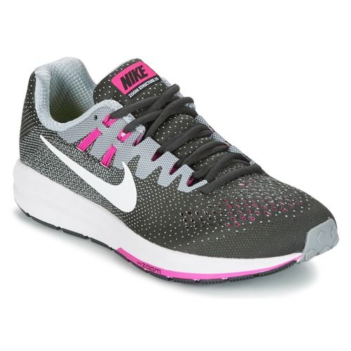 premium selection 5976a 82f46 Nike AIR ZOOM STRUCTURE Gris   Rose pas cher prix Baskets Femme Spartoo  119.00 €