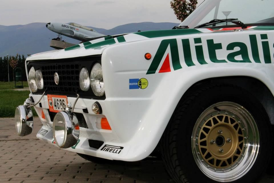 Fiat 131 Abarth Alitalia Replica Cars Antique Cars Monster Trucks