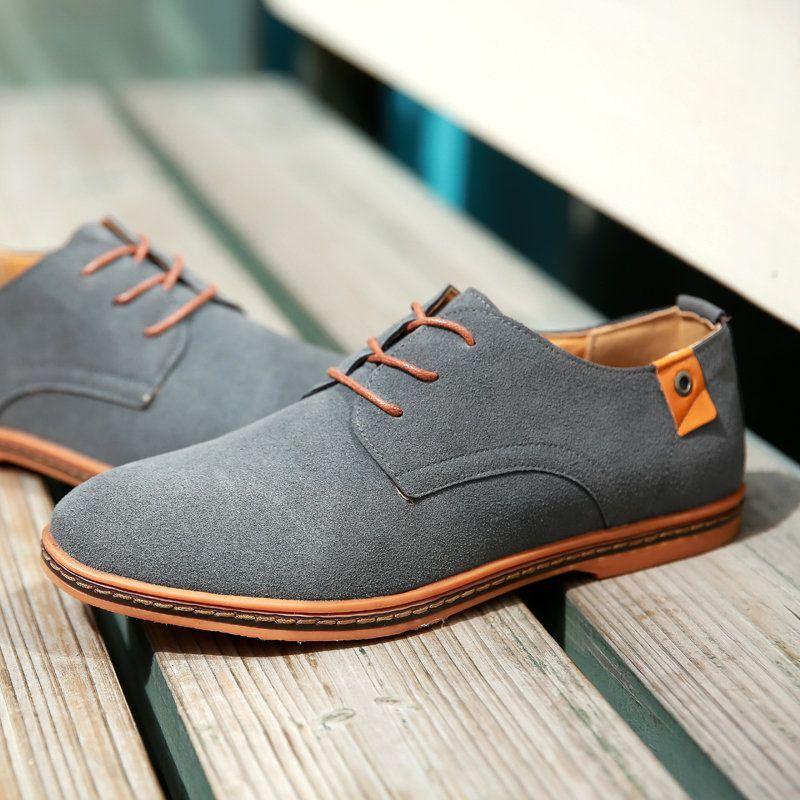 Large Size Men Leather Non-slip