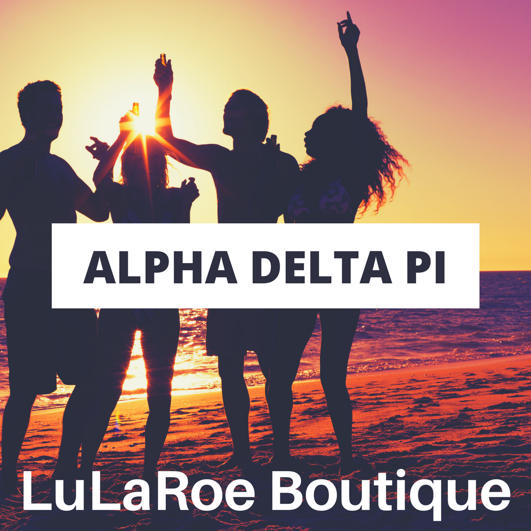 Pop-up party with UDel chapter May 9th!! Join us.   https://www.facebook.com/groups/LuLaRoeKatieORourke/