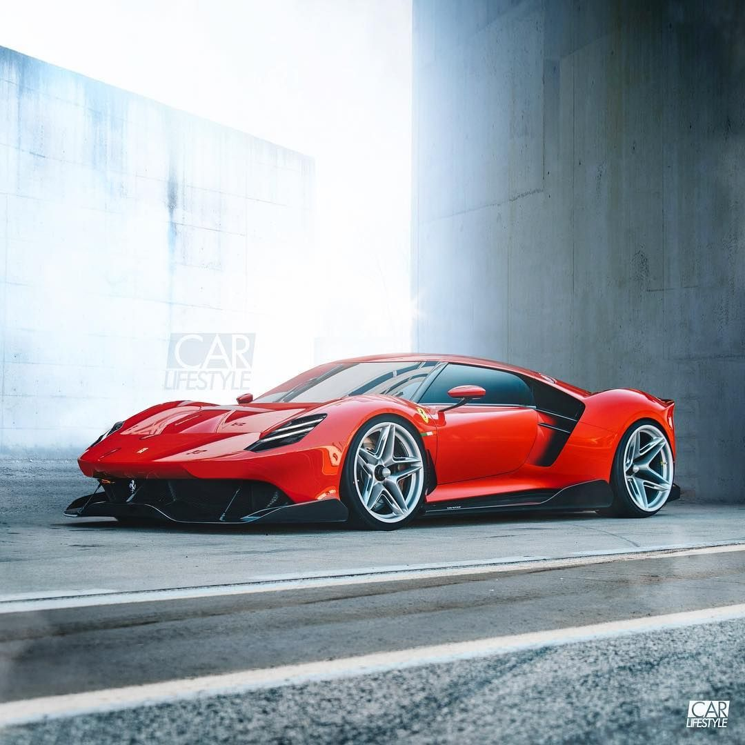 Some Kind Of Ferrari What Would You Call It Design By Carlifestyle Carlifestyle Started Life As A Ferrari P80 C Cool Sports Cars Sports Cars Luxury Ferrari