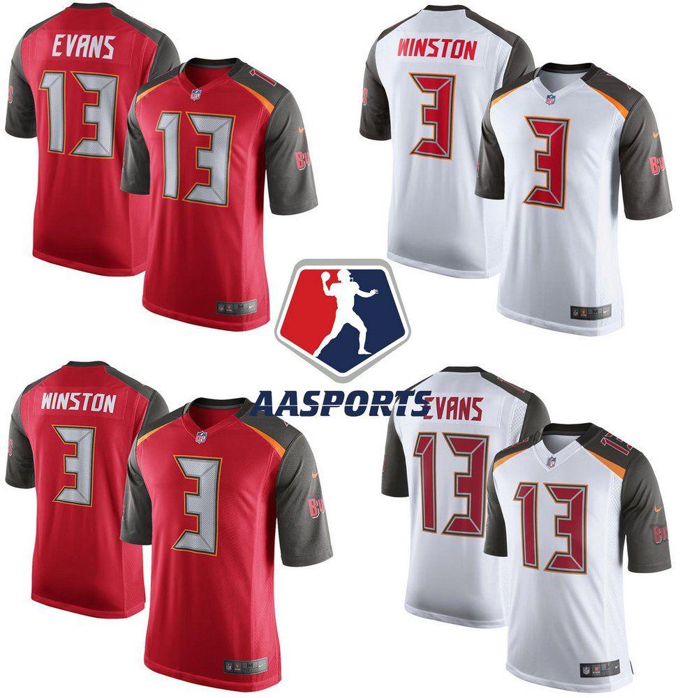 27e71ee75f Camisa Tampa Bay Buccaneers - 3 Jameis Winston - 13 Mike Evans ...