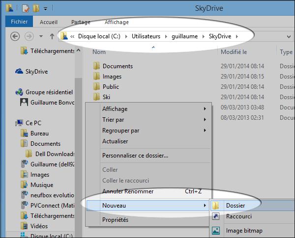 Skydrive Onedrive Synchroniser Automatiquement Votre Bureau Windows Tablette Telephone Informatique Tablette Ordinateur