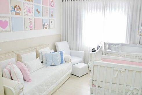 quartos decorados para bebes gemeos - Pesquisa Google